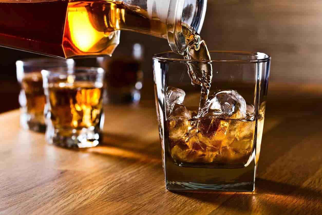 Quel alcool contient le moins de sucre?
