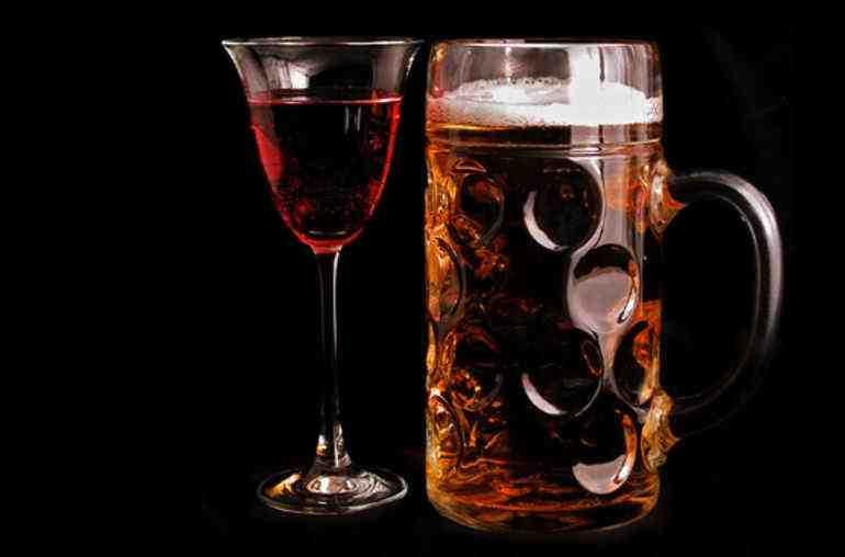 Quel alcool est le moins gras?