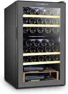 Comment la température dans une cave à vin est-elle régulée?