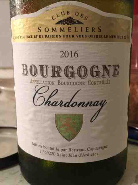 Quand bois-tu du Chardonnay?