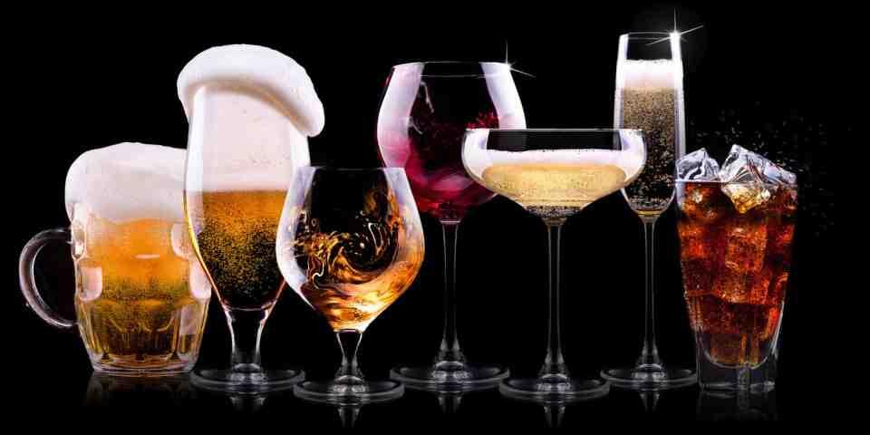 Quel alcool fait grossir le menu?