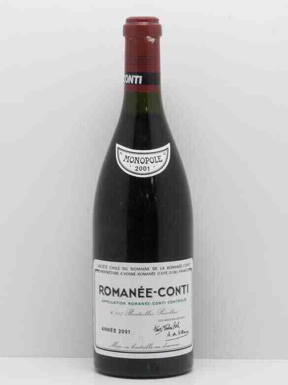 Quelle est la bouteille de vin rouge la plus chère au monde?