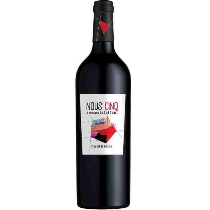 Qu'est-ce qu'une bouteille de vin rouge à offrir?