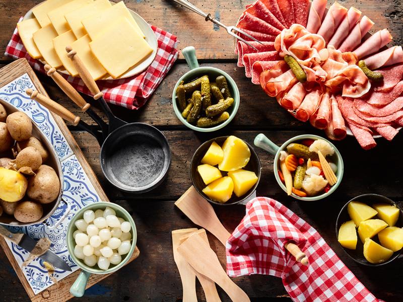 Quel vin blanc avec une raclette au salami?