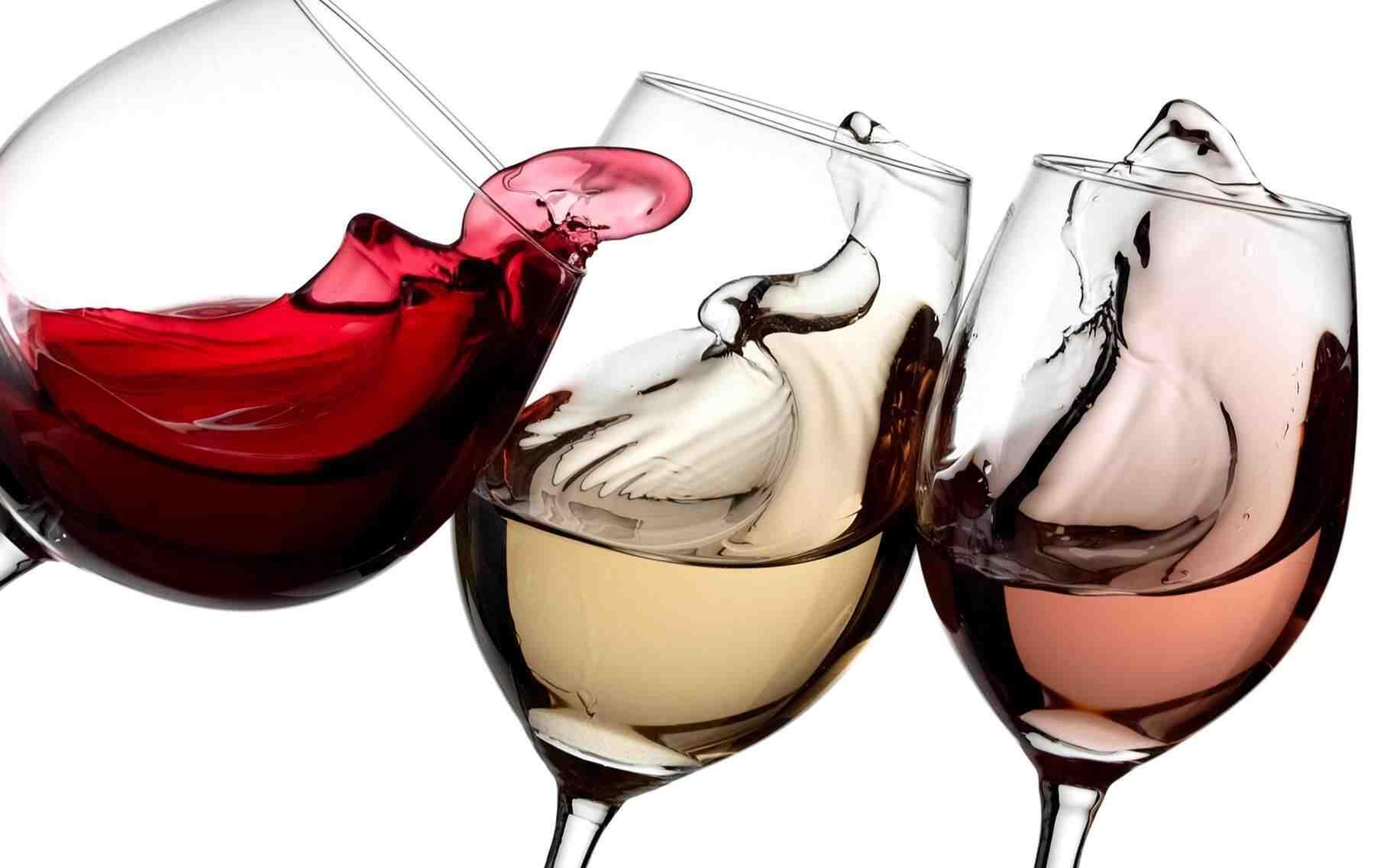 Pourquoi pas du vin rosé ?
