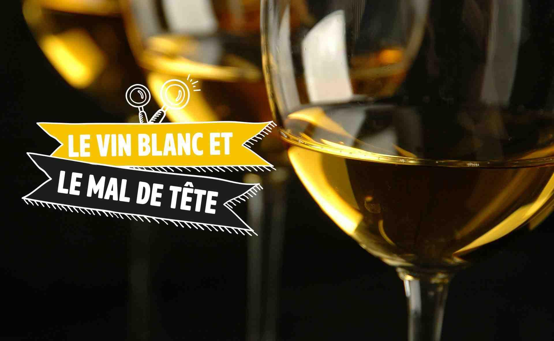 Le vin blanc fait monter la tension ?